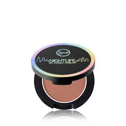 Closeup   powder bronzer   limelight