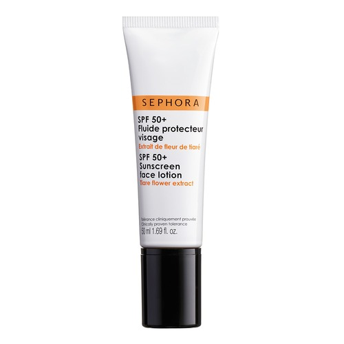 Closeup   spf 50 sunscreen face lotion hd web