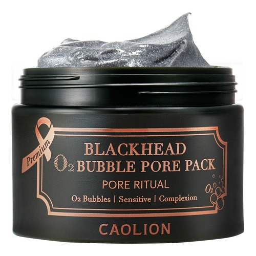 Closeup   11. caolion premium blackhead o2 bubble pack 4 web