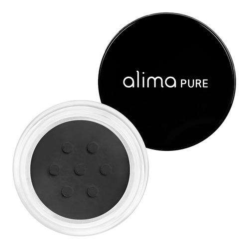 Closeup    0001 black satin matte eyeliner alima pure