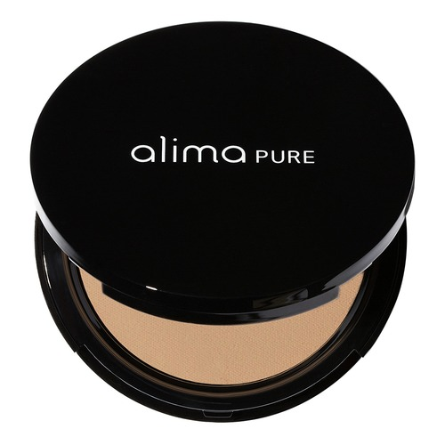 Closeup    0004 chestnut pressed foundation with rosehip antioxidant complex compact alima pure