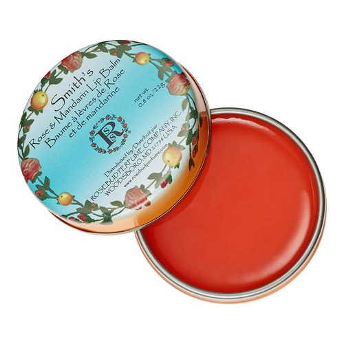 Closeup   smithsrose and mandarin lip balm web