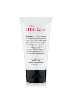 Total Matteness Pore Minimizing & Mattifying Cleanser + Mask