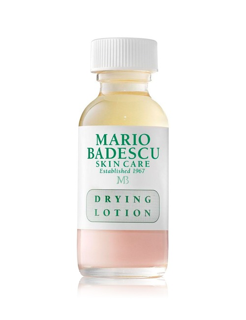 Closeup   drying lotion