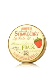 Strawberry Lip Balm In A Tin